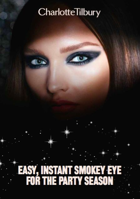 Make sure all eyes are on you this Christmas... and get ready for the festive season with THE ultimate party smokey eye. Follow @ctilburymakeup's easy step-by-step tutorial to get a truly Pinspired make up look for Christmas and New Year's Eve.