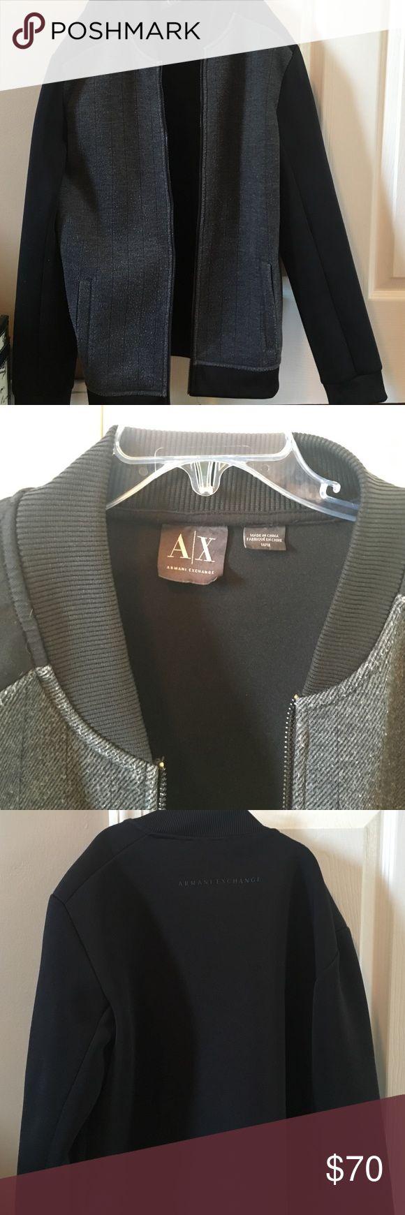 Men's Armani Exchange coat Men's Armani Exchange coat. Medium. Looks brand new. Fitted arm/sleeves. 2 external pockets Armani Exchange Jackets & Coats