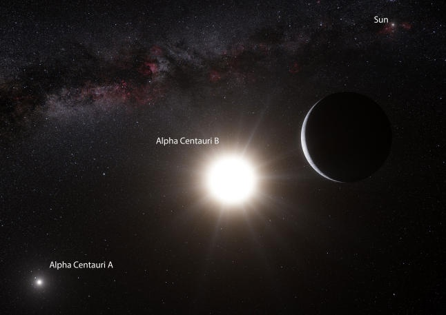 Descubren un exoplaneta formado en gran parte de diamante y otro muy similar a la Tierra, en Alpha Centauri
