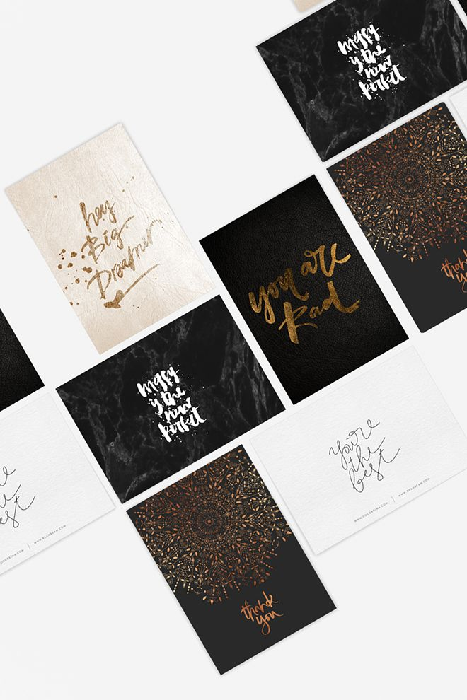 WIN 100 LUXE POSTCARDS DESIGNED BY COCORRINA