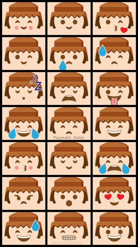 Playmobil emojis
