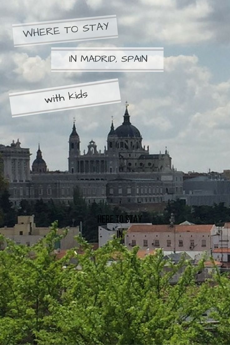 A handy guide about where to stay in Madrid when travelling with kids with Madrid neighbourhood guide and hotel and apartment recommendations. Read the article for family friendly accommodation in Madrid addresses and a selection of Madrid hotels with swi
