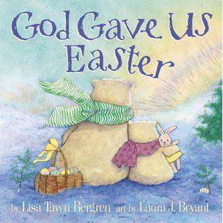 """God gave us Easter - Lisa Town Bergren: Varsta: 2+ ; """" Dumnezeu ne-a iubit atat de mult a vrut ca noi sa fim mereu cu el . De aceea a stiut ca va trebui sa ne dea Pastele. """" Micuta pui de urs sarbatoreste cu familia  si incepe să pună întrebări despre această zi speciala. Taticul ii explica cu dragoste planurile lui Dumnezeu pentru copiii sai, in timp ce isi ia puiuta in calatorie prin lumea arctica. Ii impartaseste ce inseamna Pastele in termenii cei mai simpli si clari pentru un copil."""
