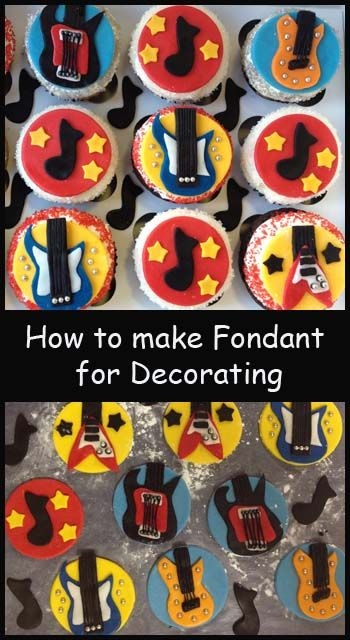 How to make fondant and other decorating tutorials