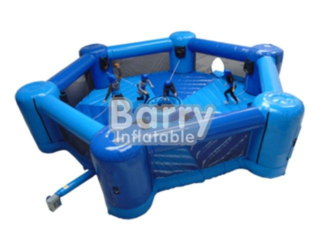 Interactive Games - hippo chow - 6 player dash n Grab,inflatable hungry hippos game for sale BY-IG-031 - Guangzhou Barry Industrial Co., Ltd.