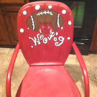 Courtney you need to do this to your chairs.