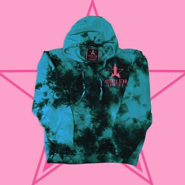 Tie-Dye 'Tiffany Blue' Hoodie – Jeffree Star Cosmetics