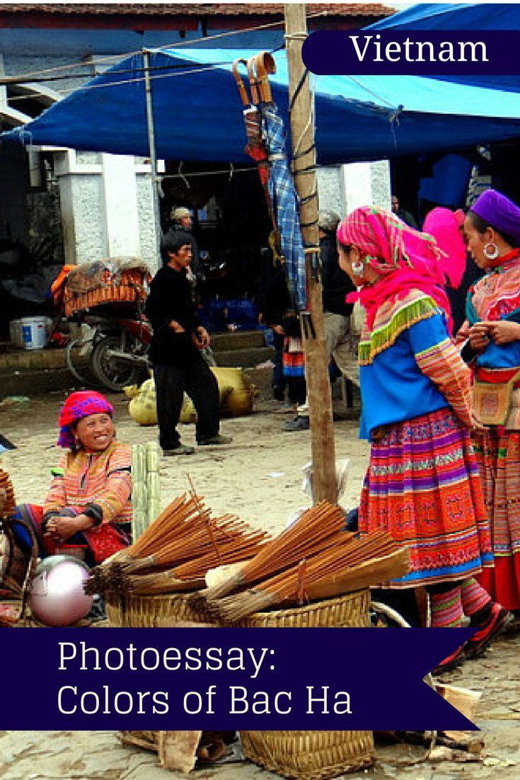 Explore Bac Ha Market in Vietnam: A photo essay from the colorful markets of Bac Ha, Vietnam