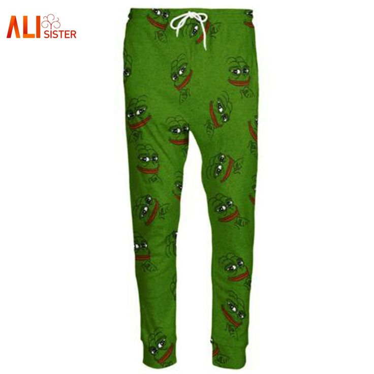 Find More Casual Pants Information about Alisister 3D Pepe Frog Joggers Pants Men/Women Funny Cartoon Trousers Sweatpants Autumn Fall Winter Style Trousers Dropshipping,High Quality jogger pants men,China jogger pants Suppliers, Cheap pants men from Alisister Store on Aliexpress.com