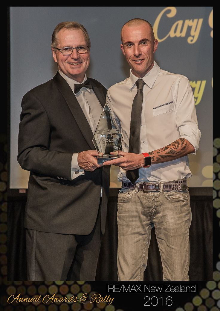 "RE/MAX NEW ZEALAND  Awards Night 17/02/2016 ""GOLD CLUB""  -  Cary Ralph  -  RE/MAX Cambridge"