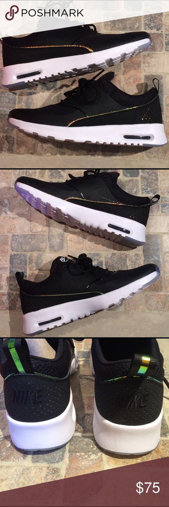 pretty nice fa073 da706 Mujeres Nike Air Max, Mujeres Nike, Air Max Thea, Malla Negro, Nike