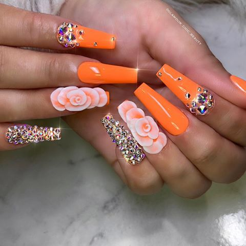 52 Gorgeous Coffin French Tip Nail Designs - Ideas & Opinions