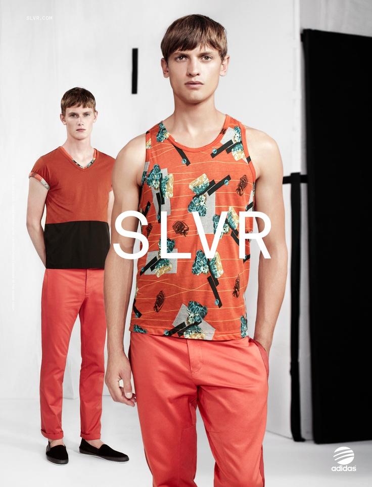 adidas SLVR Spring/Summer 2013 campaign, shot by Willy Vanderperre #SLVR #willyvanderperre