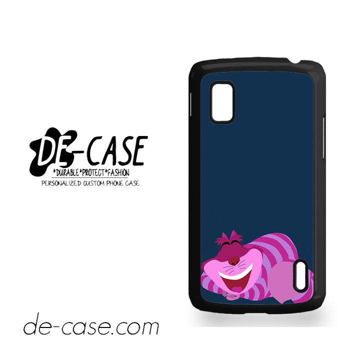 Tints & Shades Exclusive Cheshire Cat For Google Nexus 4 Case Phone Case Gift Present YO