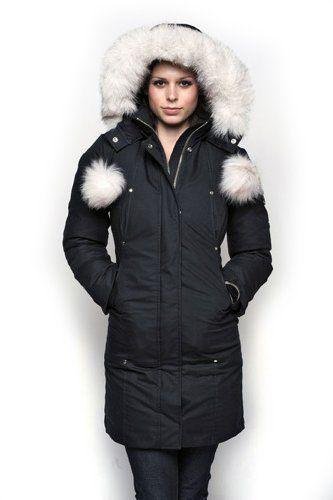 Moose Knuckles — Stirling Parka-Black X-Small #parka #women'sfashion #winter