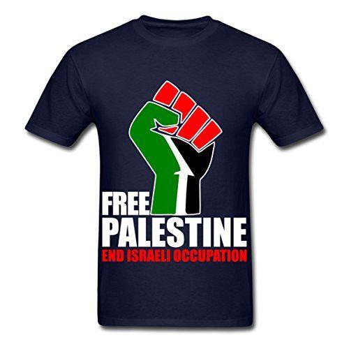 Free Palestine - End Israeli Occupation Men's T-Shirt 100% cotton