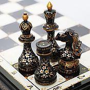 Сувениры и подарки ручной работы. Ярмарка Мастеров - ручная работа шахматы   Чёрная королева (большие) подарочные. Handmade.