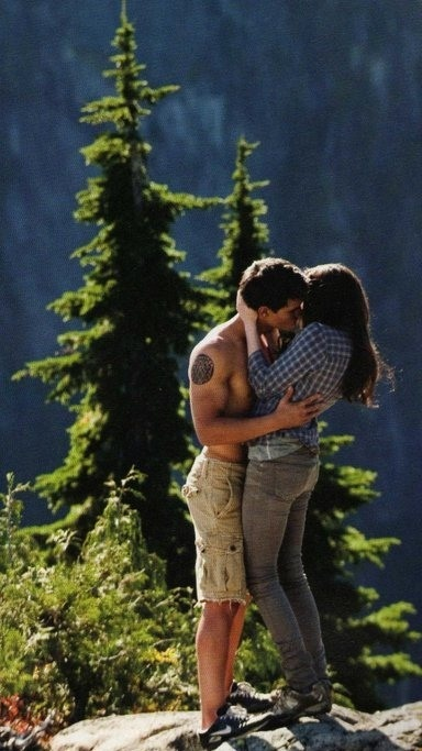 Jacob and Bella, Eclipse  You're welcome, Team Jake!