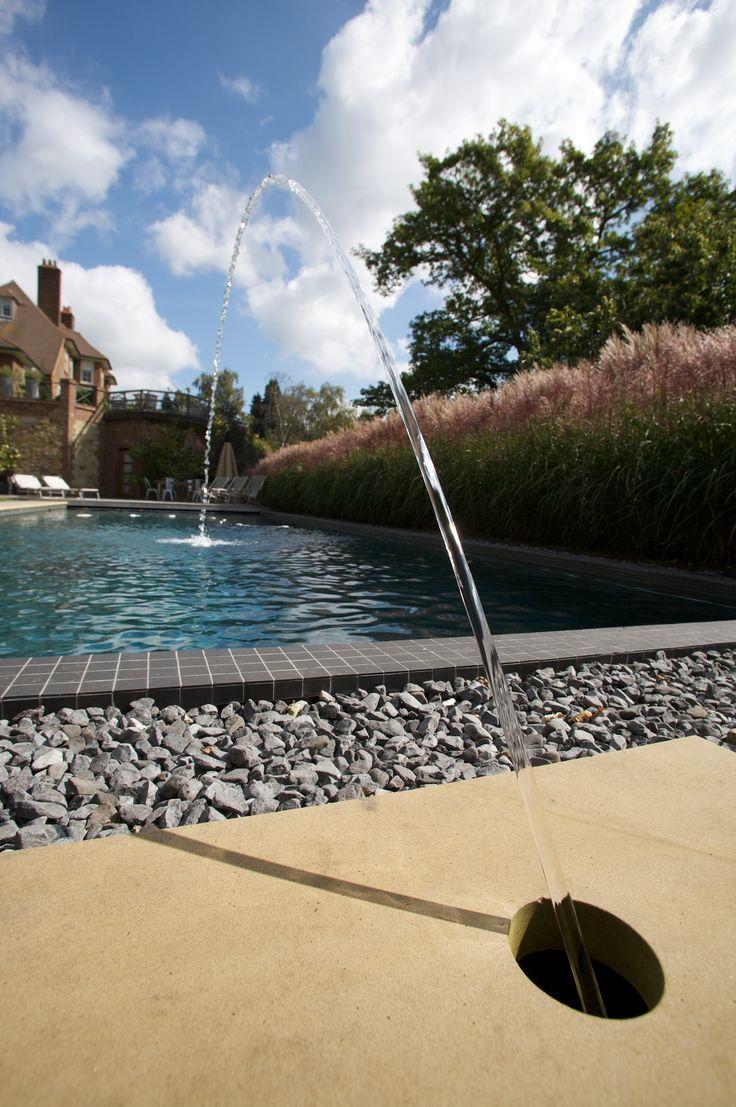 Modern swimming pool by Guncast