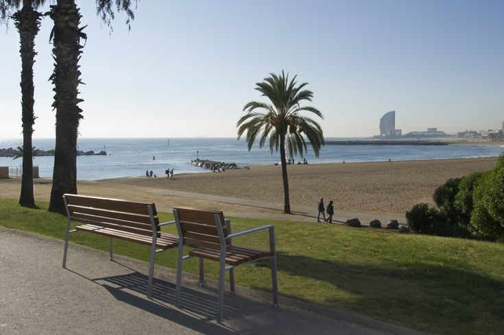 #Banco Calma en #Barcelona. #Bench #Furniture #OutdoorFurniture #breinco #StreetFurniture #HotelW