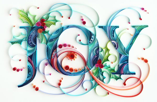 Intricate, 3D Typography That Pops Out of The Page - DesignTAXI.com