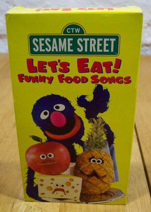 Elmo Lets Eat Funny Food Songa