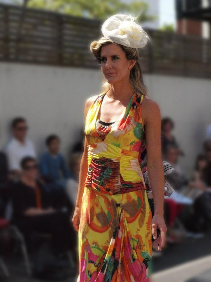 Brighton fashion week- wearing Melissa M fashion