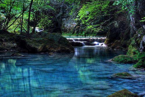 Turquoise River, Navarre, SpainTurquois Rivers, Buckets Lists, Favorite Places, Beautiful Places, Rivers T-Shirt, Navarre Spain, Nature Pools, Spain Travel, Travel Photography