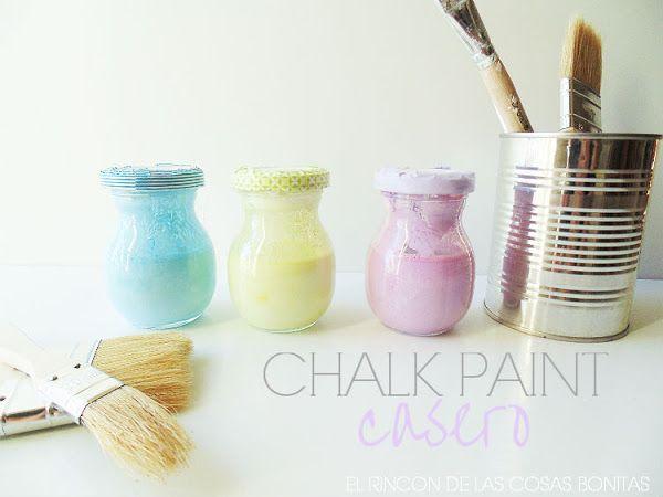 Ideas para usar chalk paint o pintura de pizarra   Hacer bricolaje es facilisimo.com