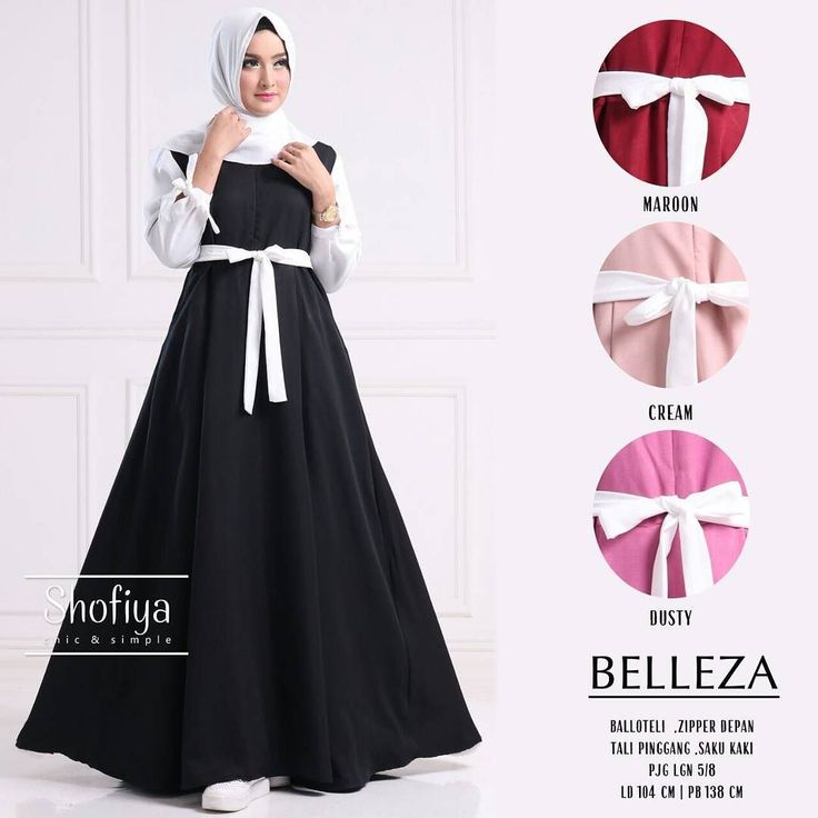 Koleksi terbaru ori by Shofiya  Belleza dress Matt : ballotely Zipper depan  Umbrella Panjang lengan 5/8 Ld 104 pb 138  Info n pemesanan silahkan hub : CS1 : 0812 3135 6279 CS2 : 0812 3135 6445  Open reseller n marketer  #hijab #hijabfashion #syari#ballotelli#resellersolo #syarionline #ORIBYSHOFIYA #hijabhunt #fashionweek #bestfashion #hijabchic #chichijabs #bajumuslim #mukena #gamissyari #surabaya #pekanbaru #medan #yogyakarta #depok #bandung #banjarmasin #jember #padang #makasar #jakarta…