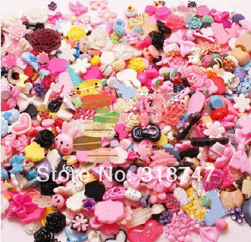 Find More Crafts Information about 100pcs Mix color Resin Cartoon  Diy Resin Materials Headdress Bracelets Earrings Accessories 080001001,High Quality earings,China accessories luggage Suppliers, Cheap accessories clock from Lucia Craft store on Aliexpress.com