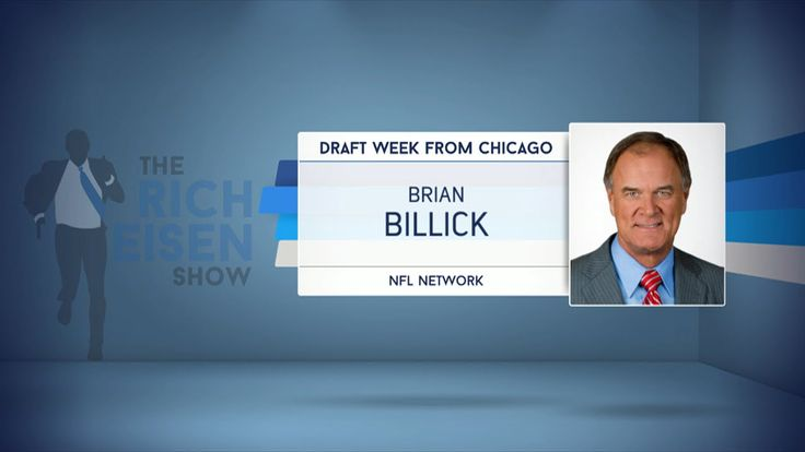 NFL Network Analyst Brian Billick Weighs in on The NFL Draft & More (Rad...