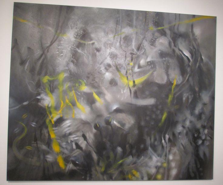 Grito de noche Óleo sobre lienzo 167 X 200 cms 2008 Colección privada