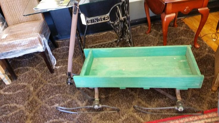 This is a stunning #antique sleigh, would look great at the #cottage (with a few flower pots) #collingwood store