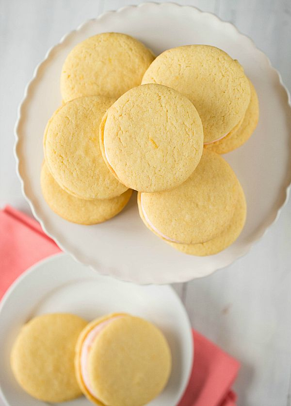 Pink Grapefruit Sandwich Cookies | Recipe