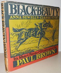 horse artist paul brown   Black Beauty illustrated by Paul Brown   Art of the Horse