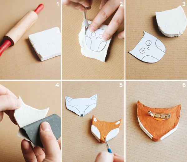 DIY PINS DE ANIMALITOS - El blog de Laücreativa