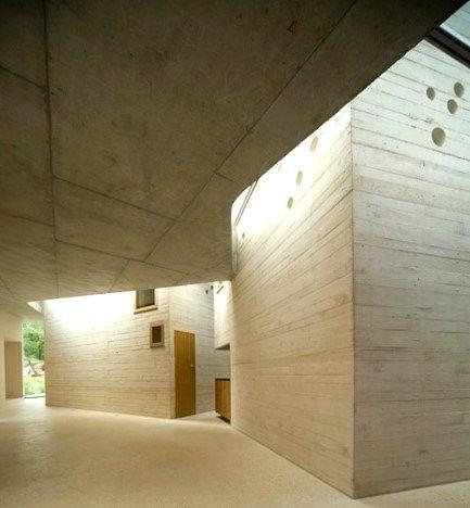 64 best  Concrete images on Pinterest Architecture, Home and - maison en beton banche