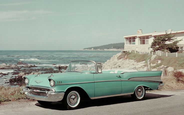 This vintage Chevrolet Bel Air Convertible from 1957 would look even more beautiful with our headlamps, don't you think? http://www.maxxima.com