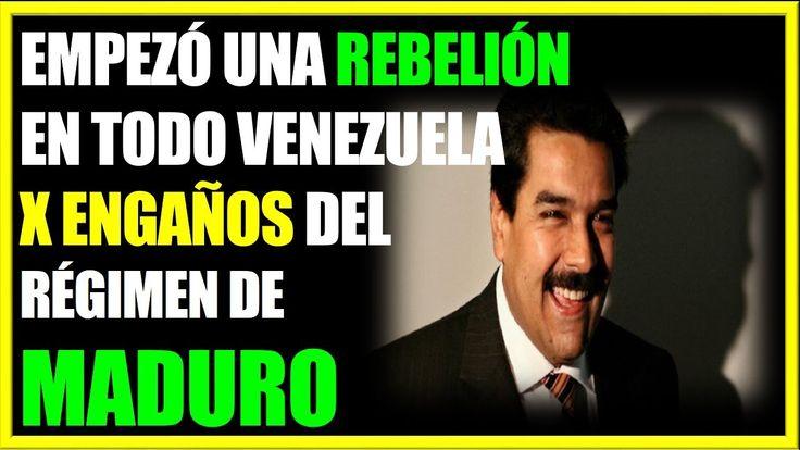 ATENCION! REBELION EN MARCHA EN VENEZUELA Noticias de Ultima Hora venezuela hoy 1 de enero 2018