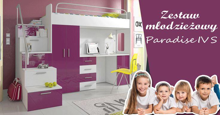 Youth set for your children - many colours. Piękne meble dla Twojego dziecka! - wiele kolorów. #mirjan24 #children #home #bed