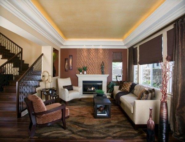 4866 best Einrichtungsideen images on Pinterest - wohnzimmer gemutlich kamin