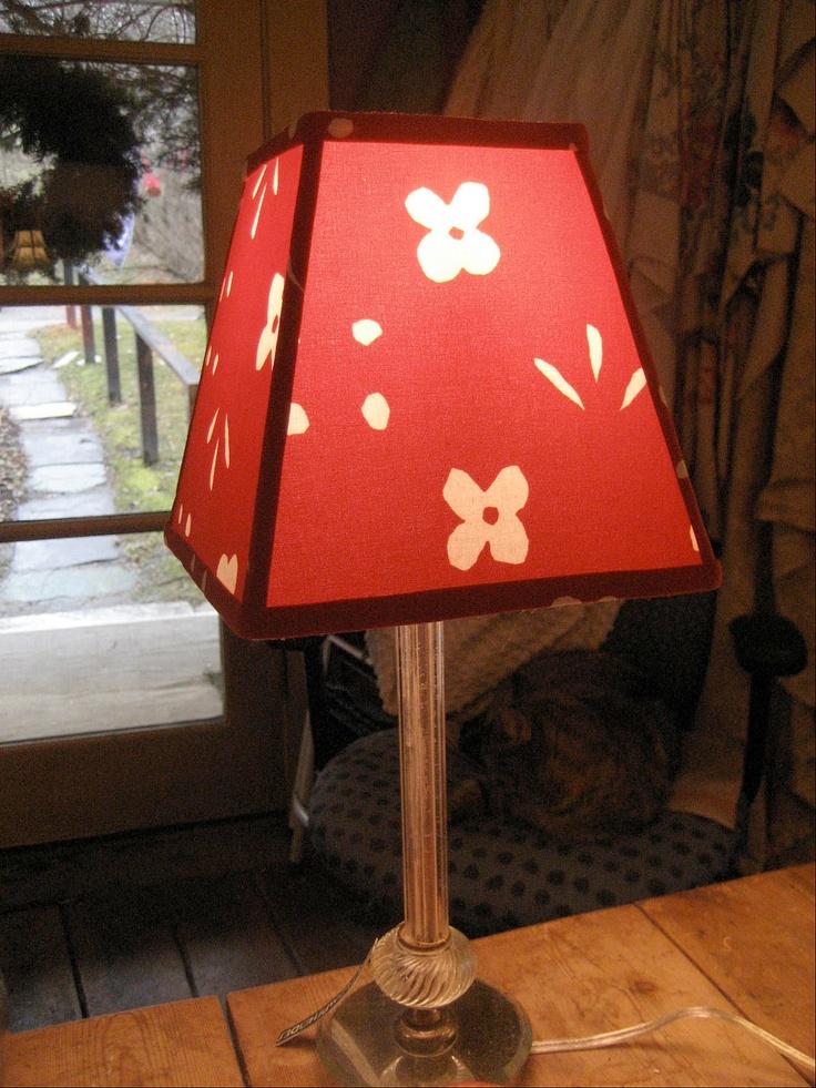 1970s Marimekko Fabric Lampshade. $75.00, via Etsy.