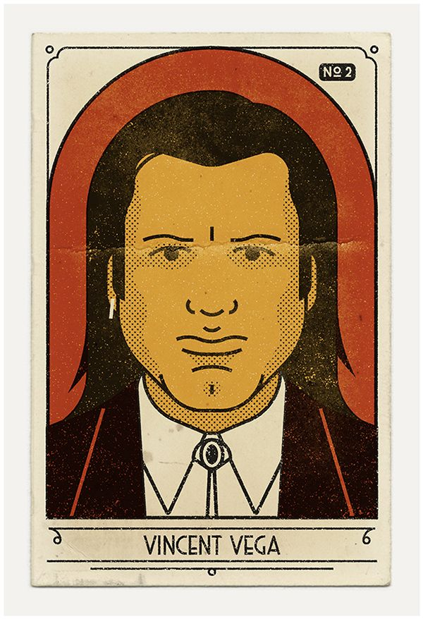 royale with cheese. vintage style posters in honor of Pulp Fiction's 20th anniversary.