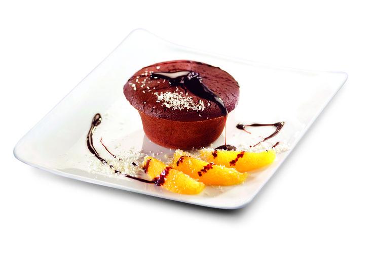 Numéro 37 : Fondant au chocolat orange et coco à la cassonade