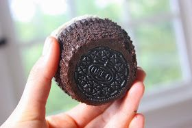 Another version of the Oreo cupcake... This one doesn't use a boxed cake mix...
