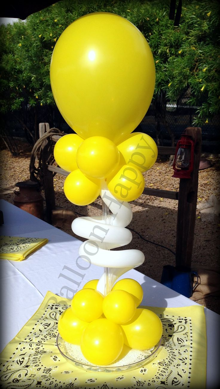 Instead of flowers, choose a balloon gift of centerpiece. Fun, classy,  silly - always unique and memorable.