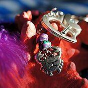 """Аксессуары ручной работы. Ярмарка Мастеров - ручная работа Брелок для ключей, на сумку """"ЛЮБОВЬ"""". Handmade."""
