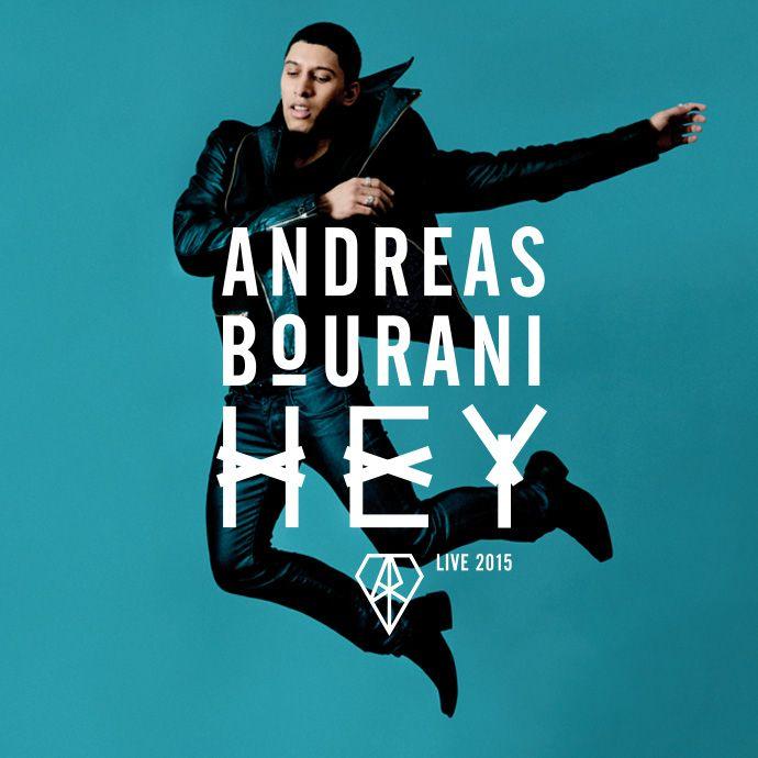 Andreas Bourani - Hey - Live 2015  Tickets unter: www.semmel.de