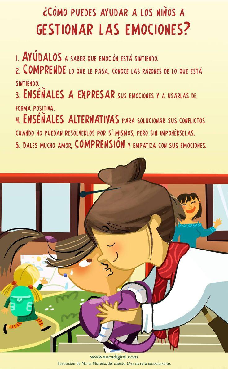 ¿Cómo puedes ayudar a los niños a gestionar las emociones de forma positiva - Imagenes Educativas